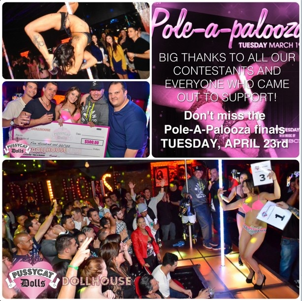 Incredible! Thank you to all our amazing Pole-A-Palooza contestants from last night and the past few months. Save the date Pole-A-Palooza Finals are going down April 23rd. http://instagram.com/p/XFut-4qm3i/