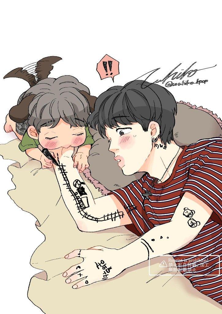 Pin by Jam Jams on BTS A.R.M.Y Bts fanart, Anime, Fan art