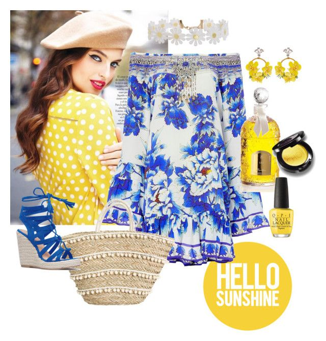"""""""Hello Sunshine by Stiled"""" by sunet-vermaak on Polyvore featuring Camilla, Humble Chic, VANINA, Guerlain and OPI"""
