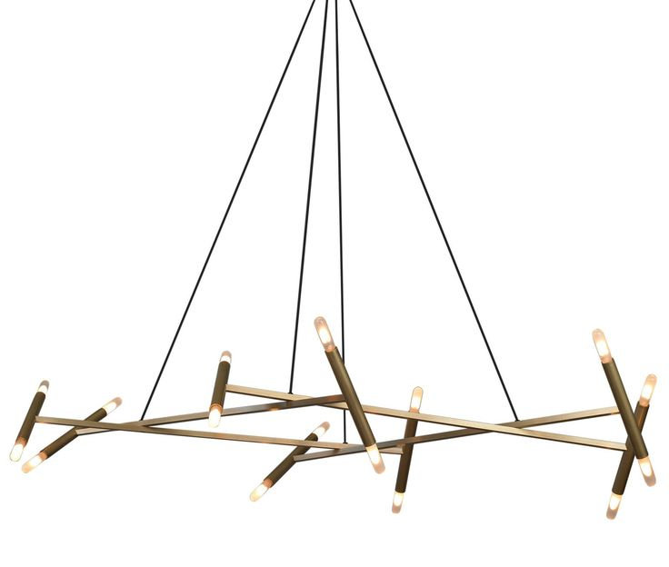 Jbs Le Diamant Chandelier  Contemporary, Metal, Chandelier by Jonathan Browning Studios