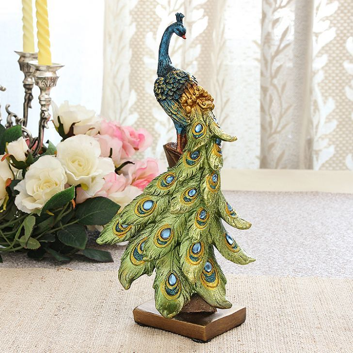Accents Princely Peacock Statue - FabFurnish.com