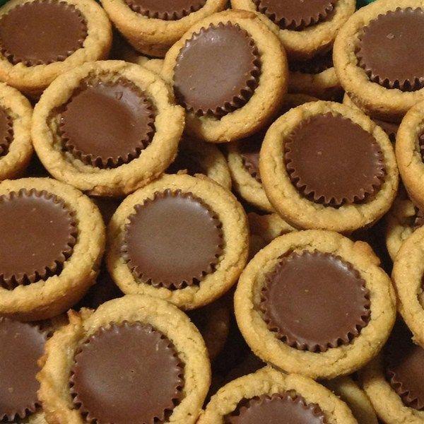Nice Peanut Butter Cup Cookies