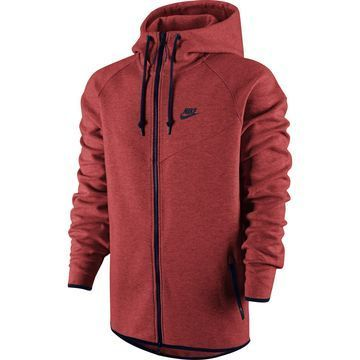 Ook zo'n Nike Tech Fleece fan? Dan is deze rode windrunner misschien wat voor jou, hij is nu in de aanbieding! #nike #sporty #mode #heren #mannen #sport #fashion #men #tech #fleece #sale