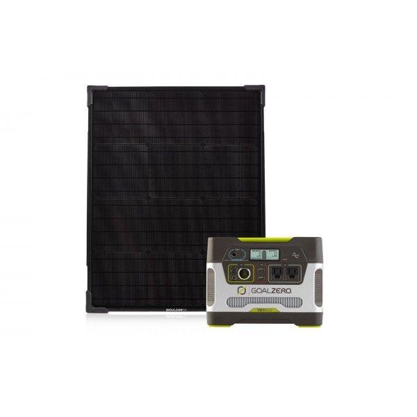 Goal Zero Yeti 400 Portable Power Station Boulder 50 Solar Panel Pack Rv Power Solar Lighting Caravan Rv Solar Panels Solar Solar Lights