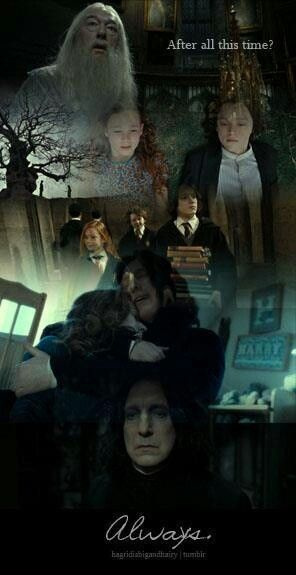 Snape...Is one of my favorite characters, truly, he is an incredible master-mind.