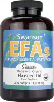 The Product Swanson EFAs OmegaTru Flaxseed Oil 1,000mg, 200 Softgels  Can Be Found At - http://vitamins-minerals-supplements.co.uk/product/swanson-efas-omegatru-flaxseed-oil-1000mg-200-softgels/