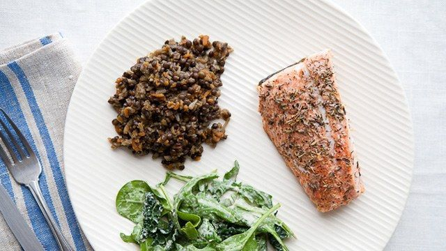 This sockeye salmon recipe is a great option for a weeknight—it's done before you know it.
