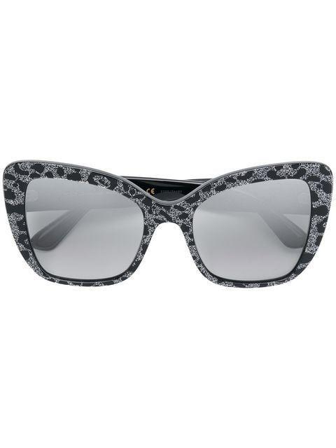 47a5c51c35 Dolce & Gabbana Eyewear Gafas De Sol Con Motivo De Leopardo y ...