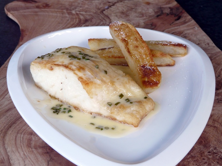 ... halibut with truffled polenta pan roasted halibut fillets and cheeks