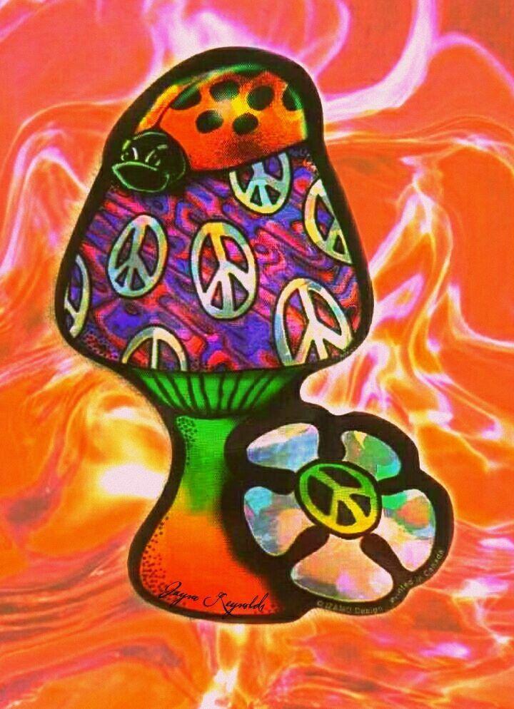 Trippy hippie psychedelic 60s nude gogo girls vs kyuss