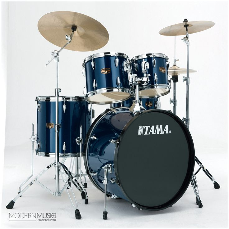 Tama Imperialstar 5-Piece Drum Kit with Cymbals - Midnight Blue