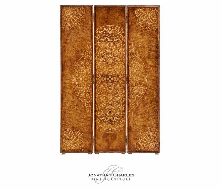 Seaweed Floor Screen #hpmkt #jcfurniture #jonathancharles #Furniture  #InteriorDesign #decorex #