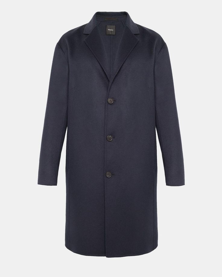 Double-Faced Cashmere Top Coat