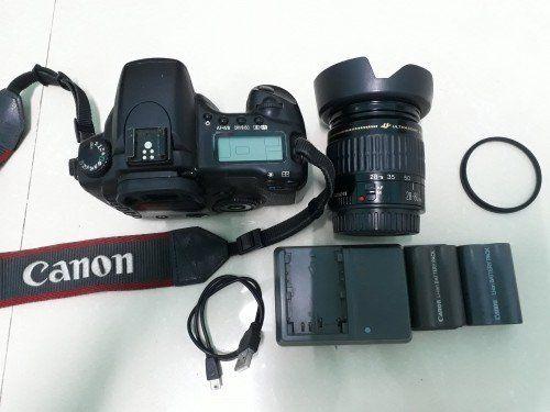 Máy Ảnh CANON 20D  Len Ultrasonic 28-80 mm