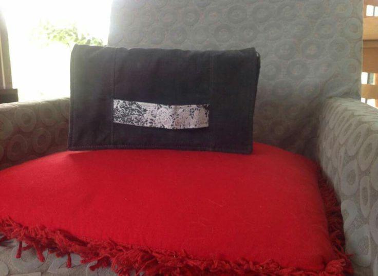 Pochette cach tin cousue par claudine patron de couture gratuit sac tin sacs - Patron pochette couture gratuit ...