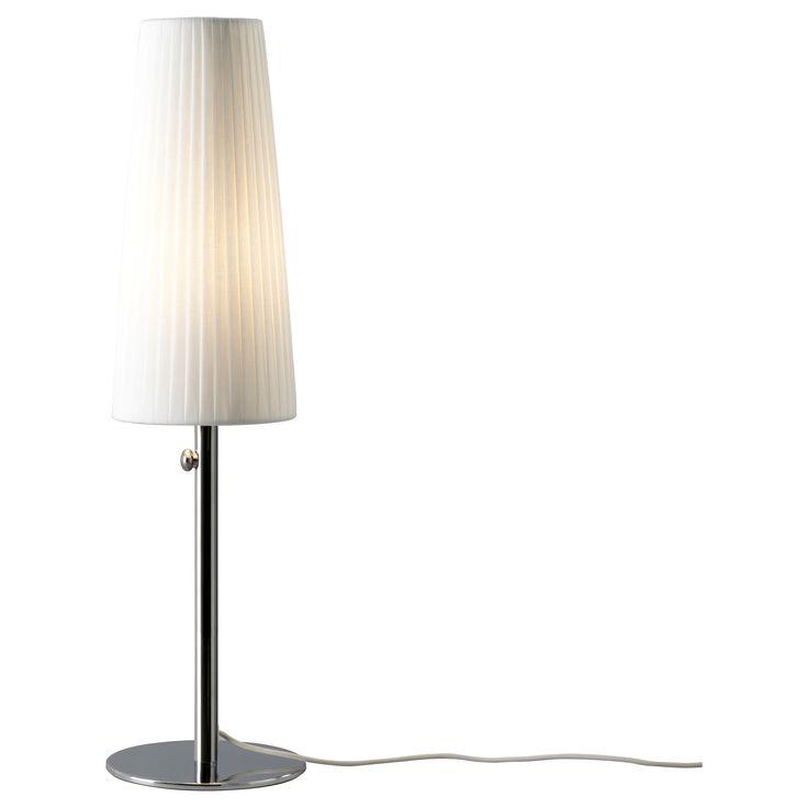 IKEA 365+ LUNTA Table lamp - chrome plated - IKEA