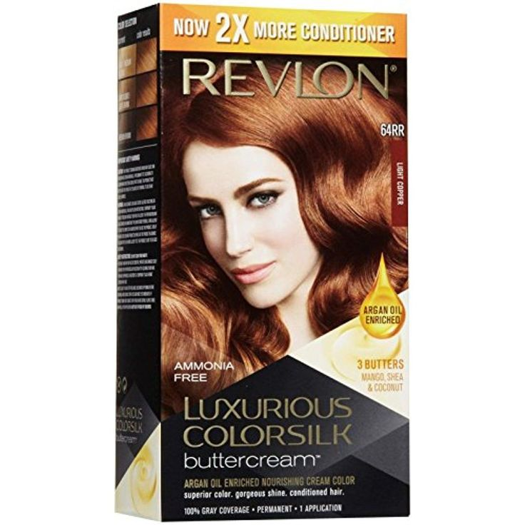 Revlon ColorSilk Luxurious Buttercream Hair Color - Light Copper - oz >>> Want to know more, click on the image. (This is an affiliate link and I receive a commission for the sales)