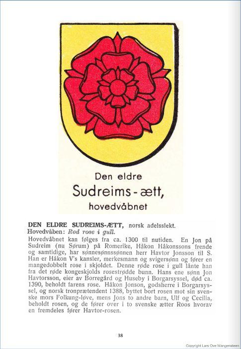 Sudrheim-ætten den eldre ætten