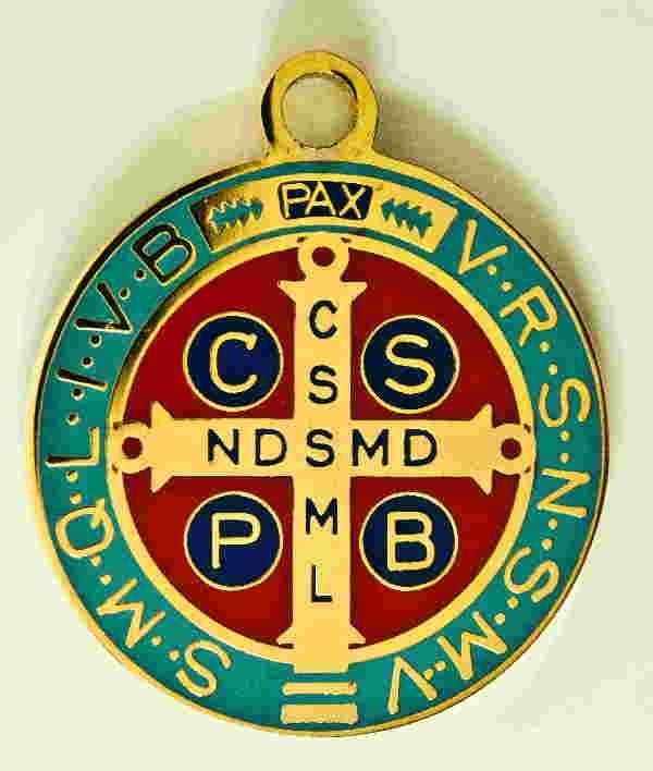 Medaglia San Benedetto. 22 mm. Contatta http://www.tiemmecreazioni.it/it/contatti.html