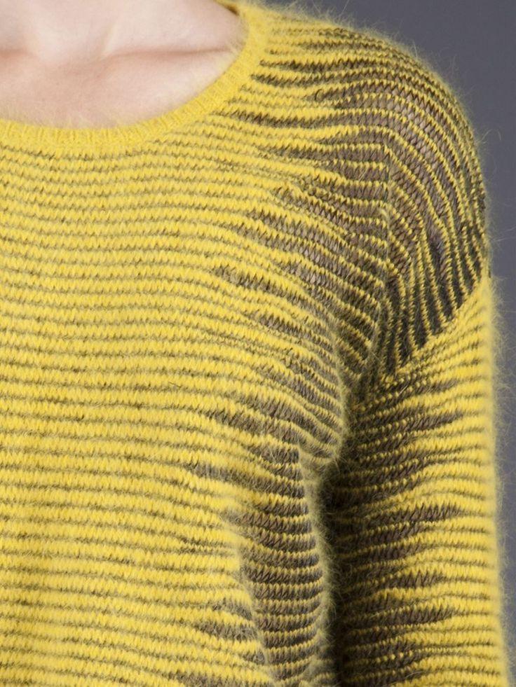 Alexander Wang Metallic Frayer Sweater - - Farfetch.com