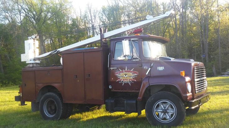 What a real welding truck looks like