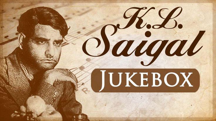 K L Saigal Best Evergreen Old Hindi Songs {HD} - Bollywood Vintage Songs
