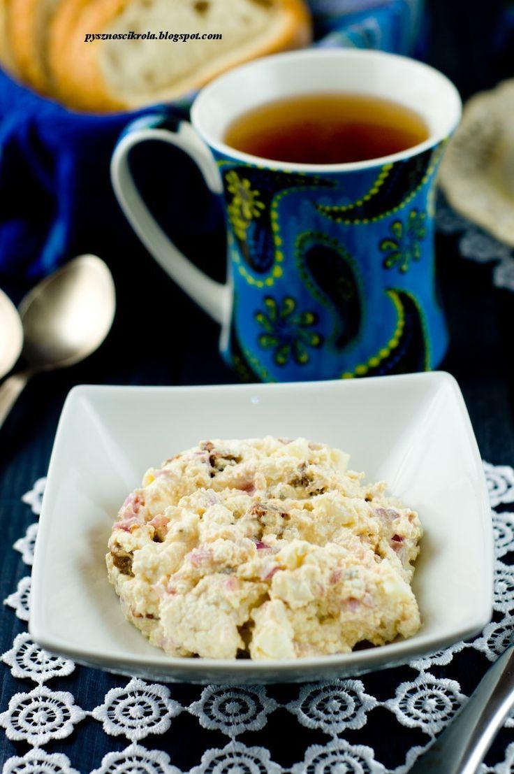 Pani Paszczakowa gotuje: Pasta do kanapek z białego sera i suszonych pomidorów