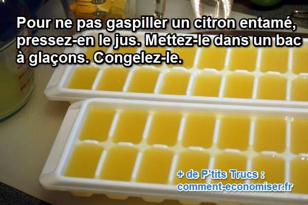 Comment faire pour conserver votre jus de citron aussi longtemps que vous voulez ?  Découvrez l'astuce ici : http://www.comment-economiser.fr/conservation-jus-de-citron.html?utm_content=bufferc6b65&utm_medium=social&utm_source=pinterest.com&utm_campaign=buffer