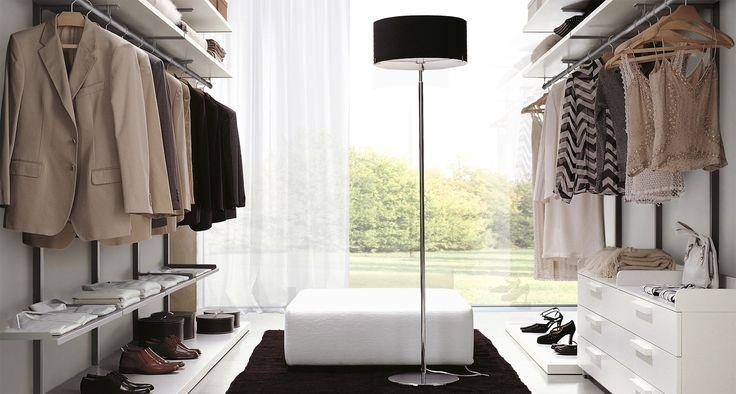 Interiérové šatny ZALF - Designový nábytek http://JESPEN.cz