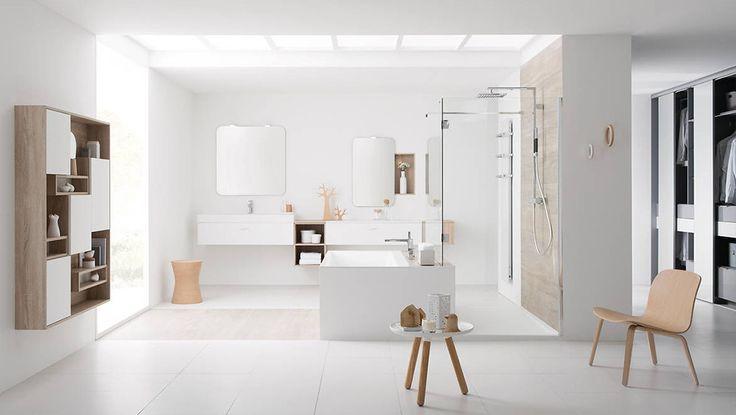 J'adore cette photo de @decofr ! Et vous ? (Source : http://www.deco.fr/photos/diaporama-le-retour-du-bois-dans-la-salle-de-bains-d_377)