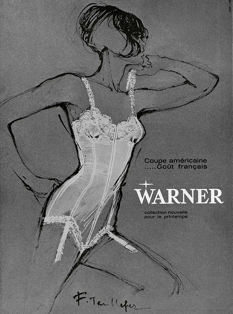 60s ad : Warner underwear by Addie ♥, via Flickr