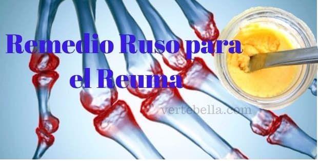 Remedio ruso para el reumatismo fácil de hacer. No necesitas estar en la tercera edad para experimentar dolores en las articulaciones, muchas personas jóven