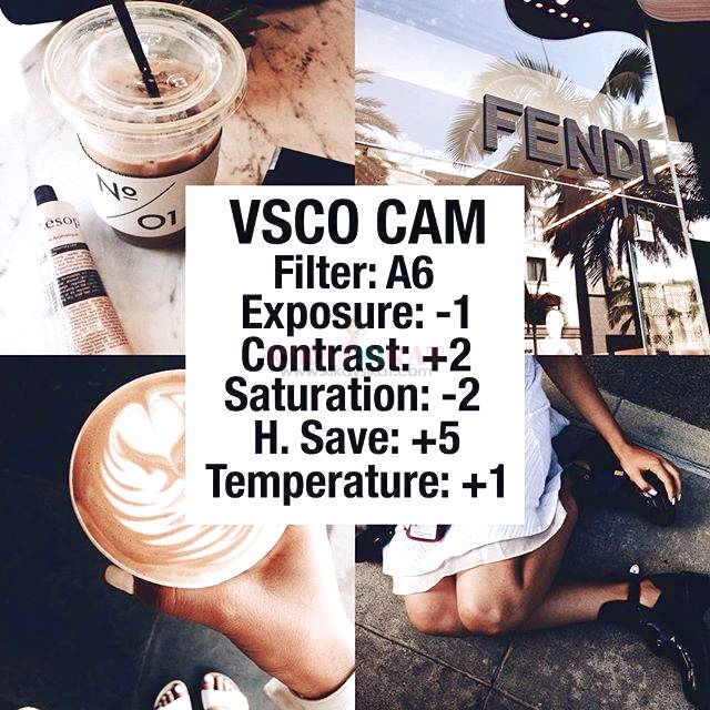 Part 3: 84 of the BEST Instagram VSCO Filter Hacks - Beauty and Lifestyle Blog on Makeup, Skincare, Reviews, Anti-Aging, Whitening, Fitness,and Food