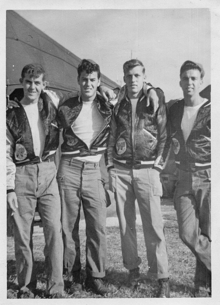 Four rockabilly pals … | Pinteres…