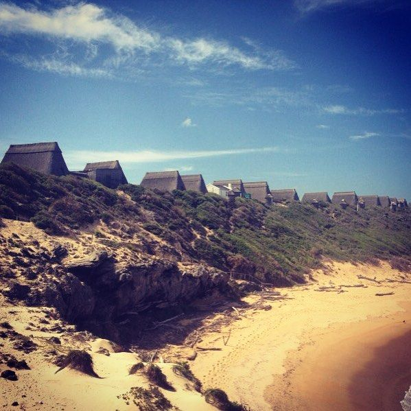 Known simply as #puntjie this unintentional open air museum is a private holiday resort at the mouth of the #duiwenhoksriver near #vermaaklikheid in the #overberg. The views over the windswept ocean are spectacular...very few know of its existence.