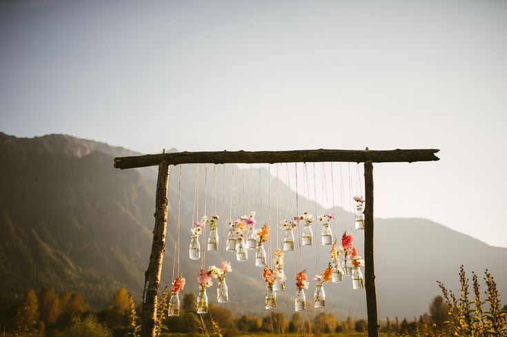 Rustic Bohemian Pemberton Wedding