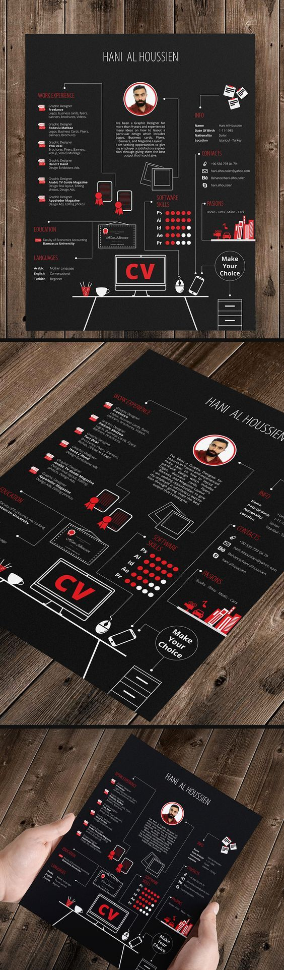 CV Design More 30 best Resumes for
