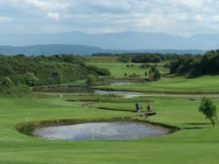 Storws Wen - a lovely 9 hole course with 4 self catering accommodation units. Ideal for your golf tour of Anglesey