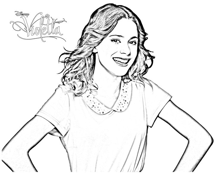 1000 Images About Violetta Coloring Pages On Pinterest