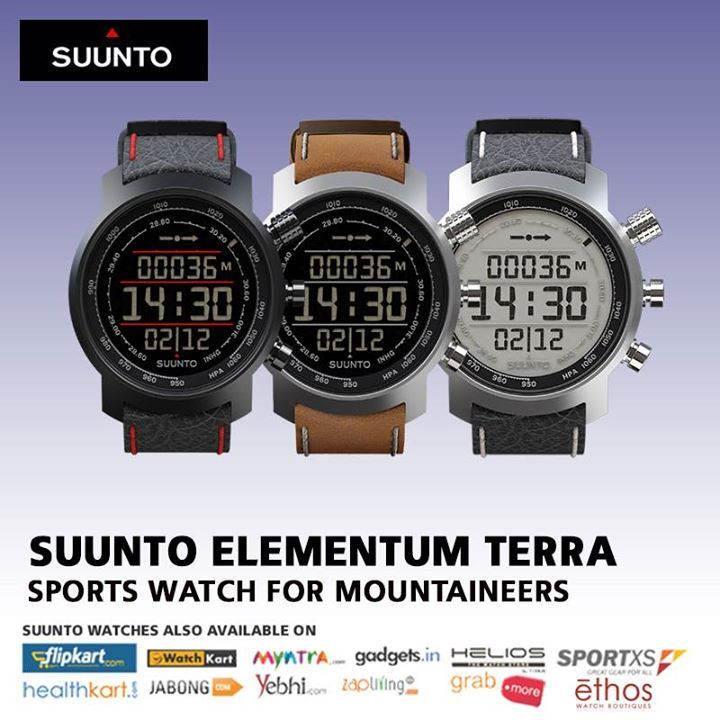 "Unique Watches crafted and Manufactured in Finland -""Suunto Elementum Terra""."