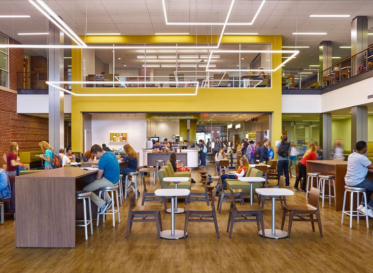 Liberty University Montview Student Union + Dining