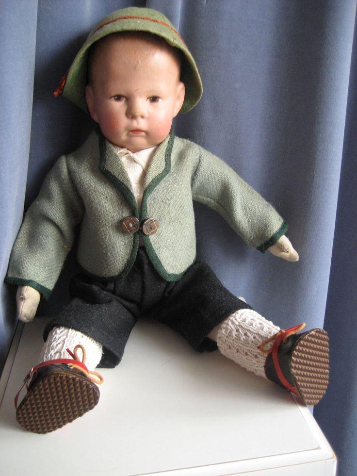 schöne alte Käthe Kruse Puppe, Hampelchen aus den 30er/40er Jahren   eBay