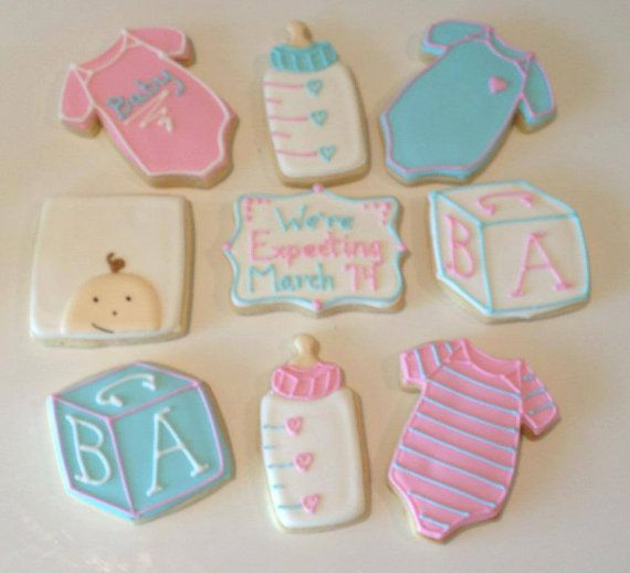 We're Expecting  Announcement Cookies by BestCookiesByFarr on Etsy, $36.00