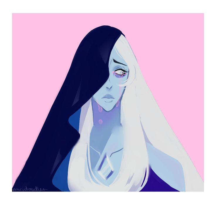 Beautiful blue diamond