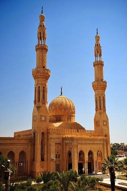 Mosque in The City of Benghazi, Libya.