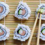 Inside-Out-Rolls Thunfisch