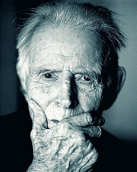 """Harry Patch.  Harry was the last Tommy to survive the horror of the trenches of WWI.  He died aged 111 in 2009. He never forgot those lost and always made sure to remember lost Germans as well as Allied troops. A quote from Harry:  """"Irrespective of the uniforms we wore, we were all victims."""""""