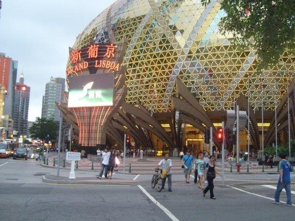 China Maccau ( The Grand Lisboa Casino )