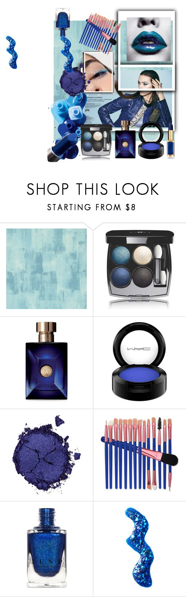 """makeup"" by style-with-me95 ❤ liked on Polyvore featuring beauty, Designers Guild, Sephora Collection, OPI, Chanel, Versace, MAC Cosmetics, Pat McGrath and Topshop"