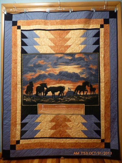 14 Best Images About Horse Pieced Quilts On Pinterest